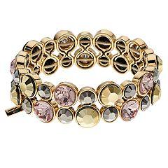 Simply Vera Vera Wang Multi Tone Stretch Bracelet