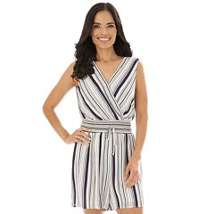 b9237b576ca Women's Apt. 9® Sleeveless Wrap Romper
