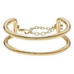 Simply Vera Vera Wang Multi Row Cuff Bracelet