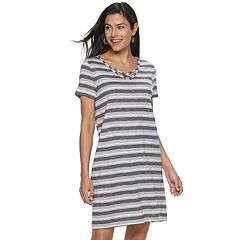 2946f7311ac7a Women's SONOMA Good for Life™ Criss Cross T-Shirt Dress