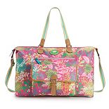 Lily Bloom Fiona Print Convertible Weekender