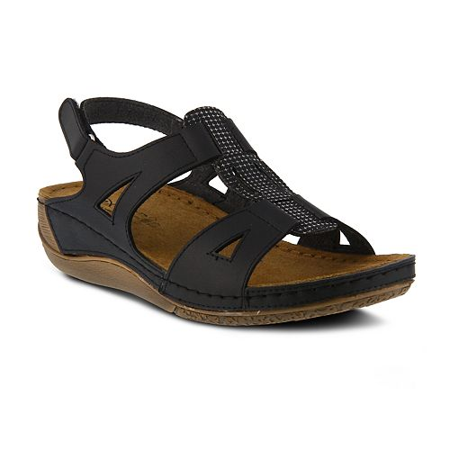 Women's Flexus Naxos Spring Step Slingback Sandals By PwOnk0