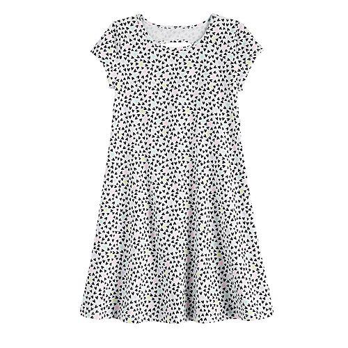 Girls 4-12 Jumping Beans® Keyhole-Back Print Dress