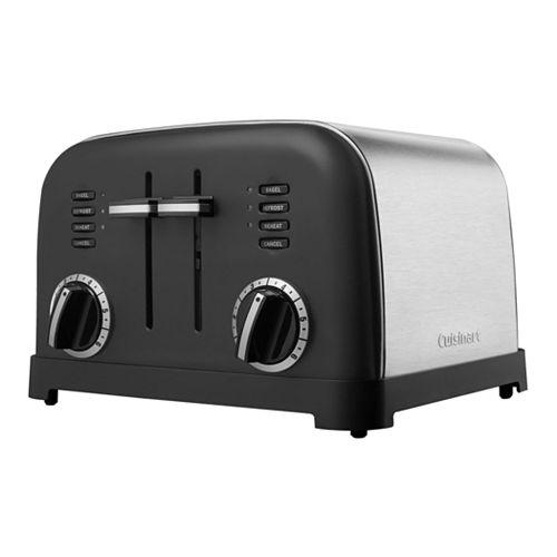 Cuisinart Classic Metal 4-Slice Toaster - Matte Black