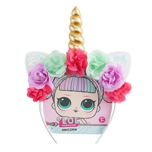 Girls L.O.L. Surprise! Floral Unicorn Headband