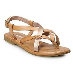 d84b8d72685 SONOMA Goods for Life™ Carport Women s Strappy Sandals
