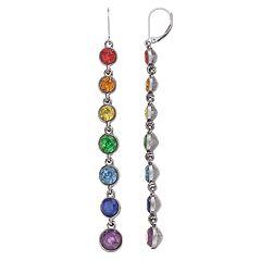 Simply Vera Vera Wang Rainbow Linear Drop Earrings