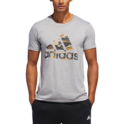 Men's adidas Camo Logo Tee