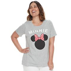 Disney's Minnie Mouse Plus Size Family Fun Mommy & Me 'Minnie' Graphic Tee