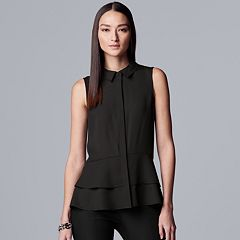7b329c6b53a21 Womens Simply Vera Vera Wang Tops, Clothing | Kohl's