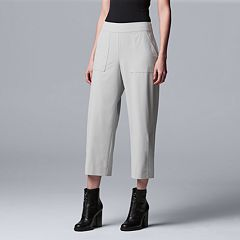 d1d211de635 Women s Every Day Movement Simply Vera Vera Wang Cropped Pull On Pants.  Black Overpass. sale