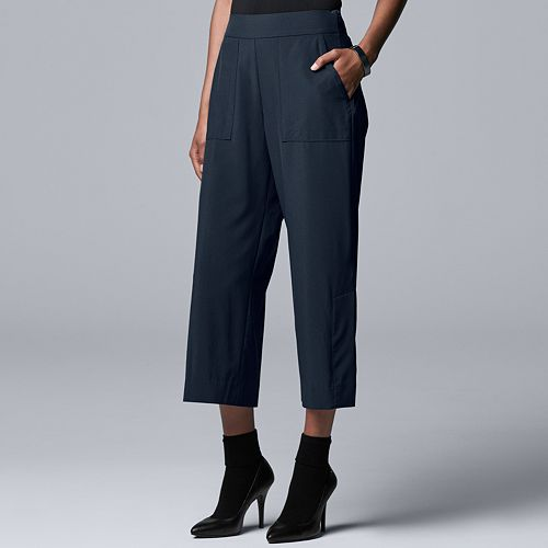 Women's Every Day Movement Simply Vera Vera Wang Cropped Pull On Pants