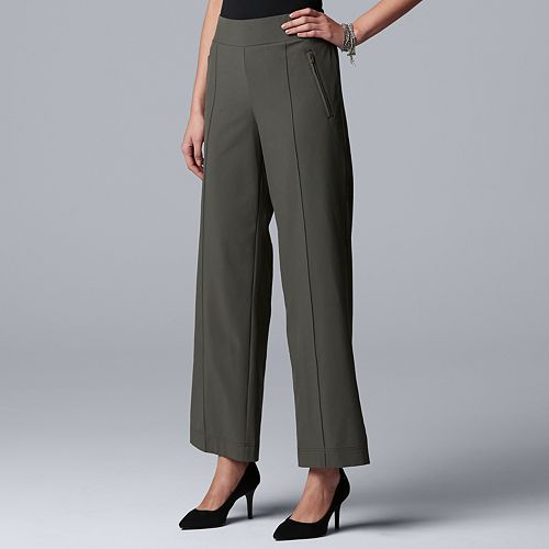 Women's Simply Vera Vera Wang Everyday Movement Relaxed Pull-On Pants