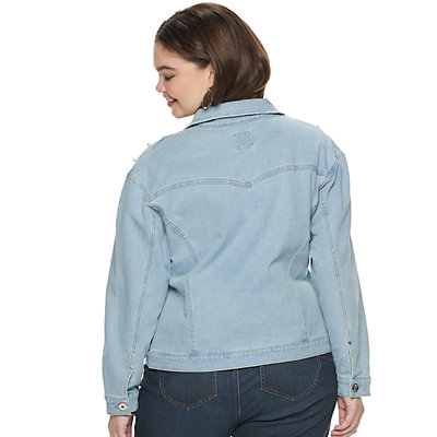 NEW! Juniors' Plus Size Candie's® Denim Jacket