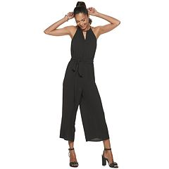 NEW! Juniors' Candie's® Belted Halter Jumpsuit