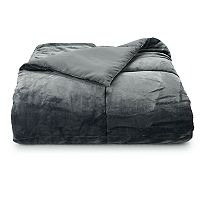 Deals on The Big One Plush Down-Alternative Reversible Comforter