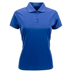 Plus Size Nancy Lopez Solid Polo