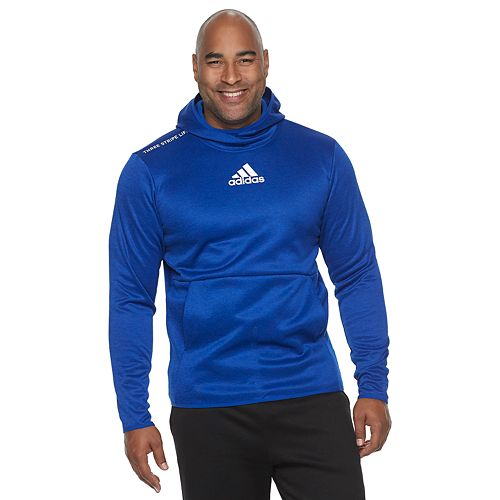 Big & Tall adidas Team Issue Badge of Sport Logo Fleece Hoodie