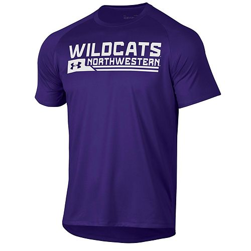 Men's Under Armour Northwestern Wildcats Tech Tee