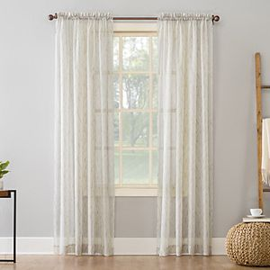 Sonoma Goods For Life? 2-pack Cadie Crushed Voile Window Curtains