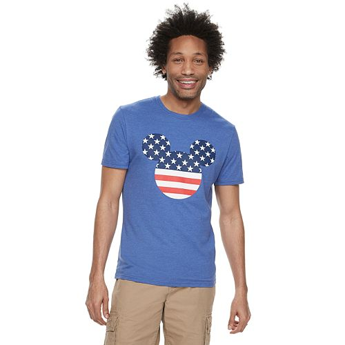 30c5162d7 Disney's Mickey Mouse Men's Americana Graphic Tee by Family Fun