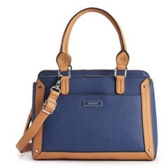 Rosetti Irene Triple-Entry Crossbody Satchel