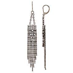 Simply Vera Vera Wang Chain Fringe Drop Earrings