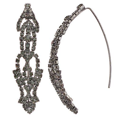 Simply Vera Vera Wang Lace Threader Earrings