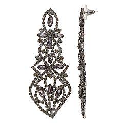Simply Vera Vera Wang Lace Motif Drop Earrings