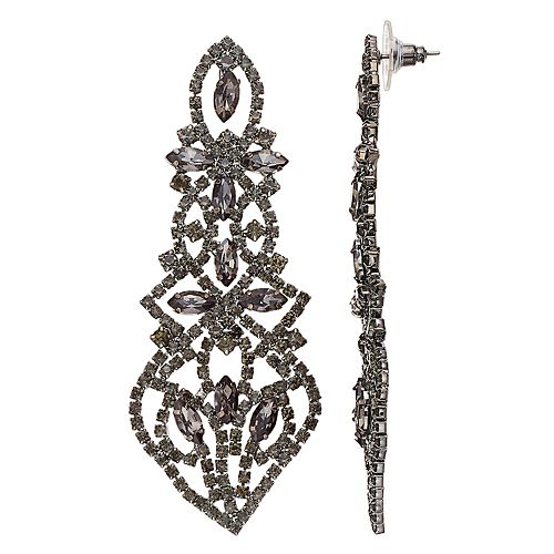 Simply Vera Vera Wang Lace Motif Drop Earrings