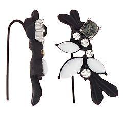 Simply Vera Vera Wang Flower Crawler Earrings
