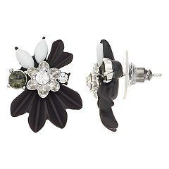 Simply Vera Vera Wang Flower Button Stud Earrings