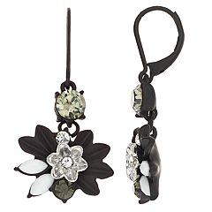 Simply Vera Vera Wang Flower Drop Earrings