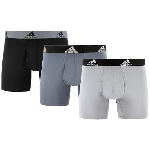 Men's adidas Big & Tall Climalite® 3-Pack Boxer Brief