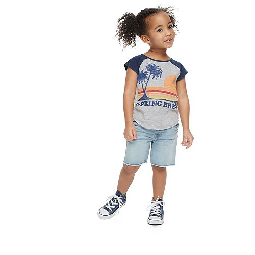 "Toddler Girl ​Family Fun™ ""Spring Break"" Graphic Tee"