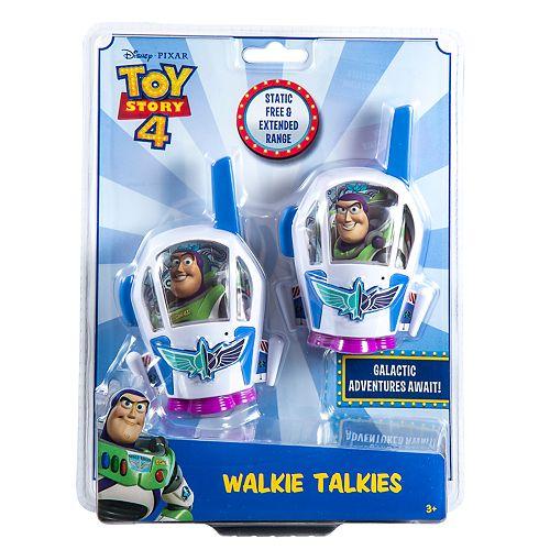 Disney / Pixar Toy Story Character Short Range Walkie Talkies