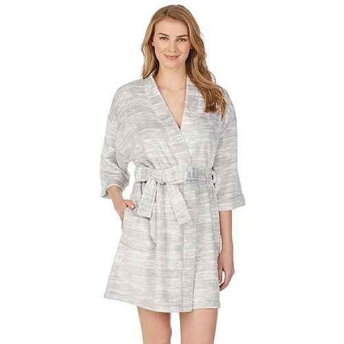 """Women's Stan Herman 36"""" Kimono Robe"""