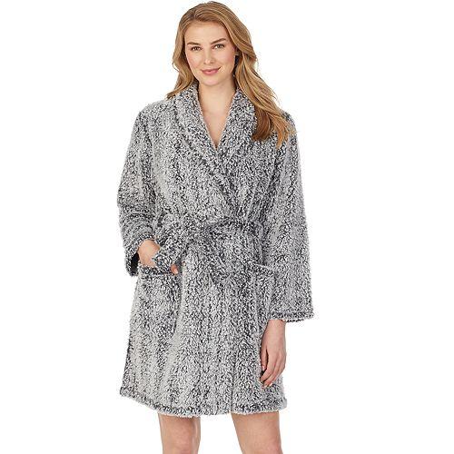 """Women's Stan Herman 36"""" Shawl Wrap Robe"""