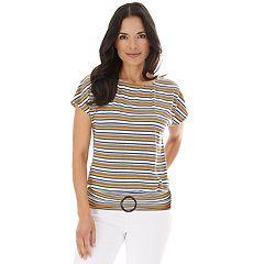 35f7566d56b19 Women's Apt. 9® Dolman Sleeve Top with Buckle Bottom