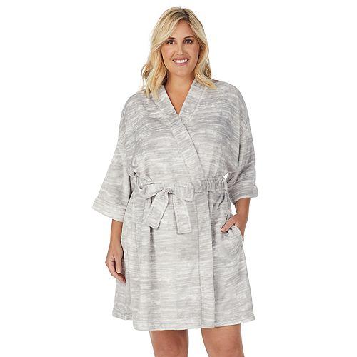 "Women's Stan Herman 36"" Plus Kimono Robe"