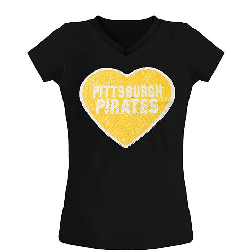Girls Pittsburgh Pirates Tee