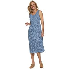 81e66a9443caf Petite Croft & Barrow® Smocked Midi Dress