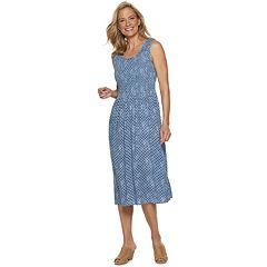 4bd06ef3ea5aae Petite Croft   Barrow® Smocked Midi Dress