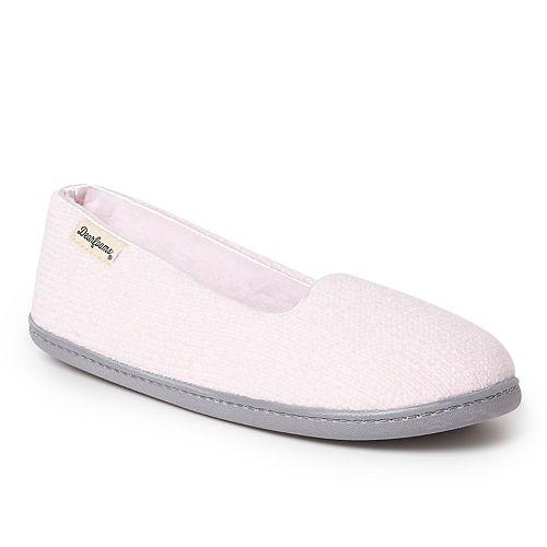 Women's Dearfoams Chenille Closed Back Slippers