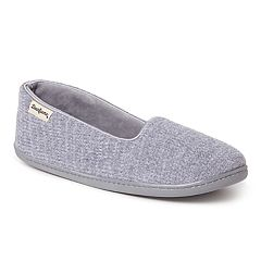 Women's Dearfoams Chenille Closed Back Slippers