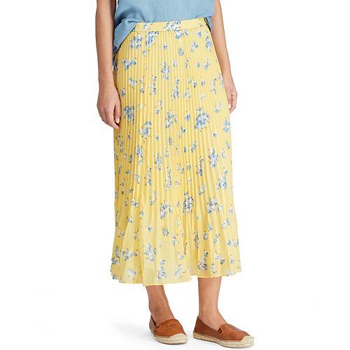 34f78c9ff Women's Chaps Floral Georgette Midi Skirt