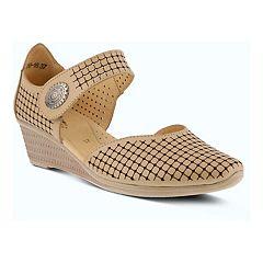 3d878c251f54 Spring Step Desiree Women s Mary Jane Shoes. Navy Beige. Regular