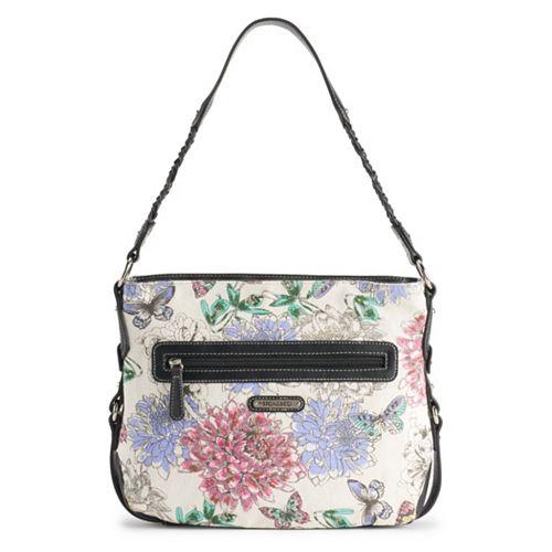 Stone & Co. Lacie Floral Hobo Bag