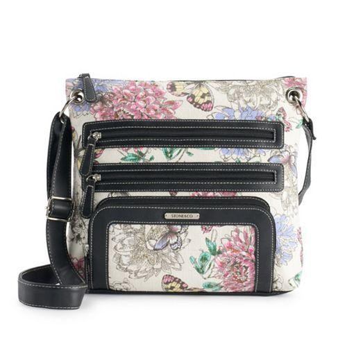 Stone & Co. Floral Super Crossbody Bag
