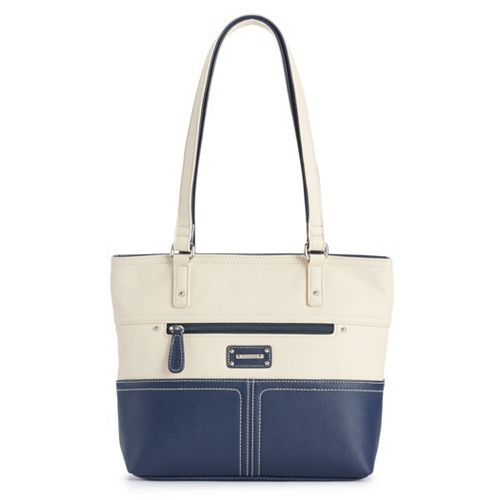 Stone & Co. Donna Pebbled-Leather Tote
